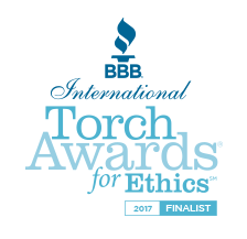 BBB Torch Awards for Ethics 2017 Finalist