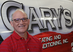 Gary Ward from Gary's Heating and Air Conditioning, Inc.